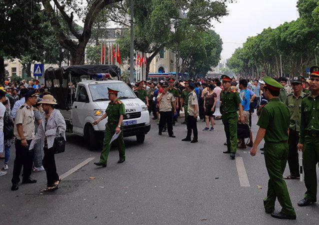 Manifestaciones en Vietnam