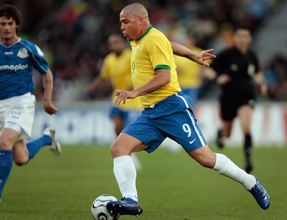 Ronaldo Nazario, futbolista brasileño