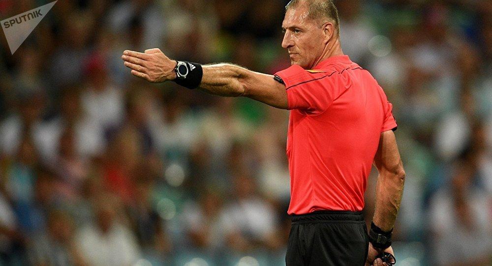 El argentino Néstor Pitana, el árbitro argentino