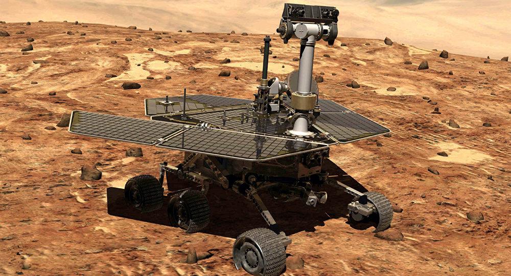 Vehículo marciano Opportunity
