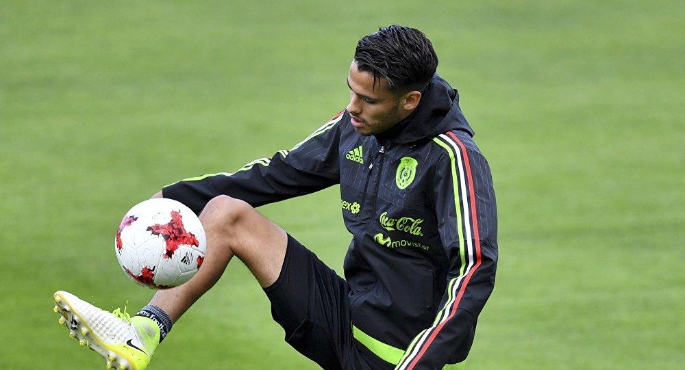 Diego Reyes, defensor de la selección mexicana