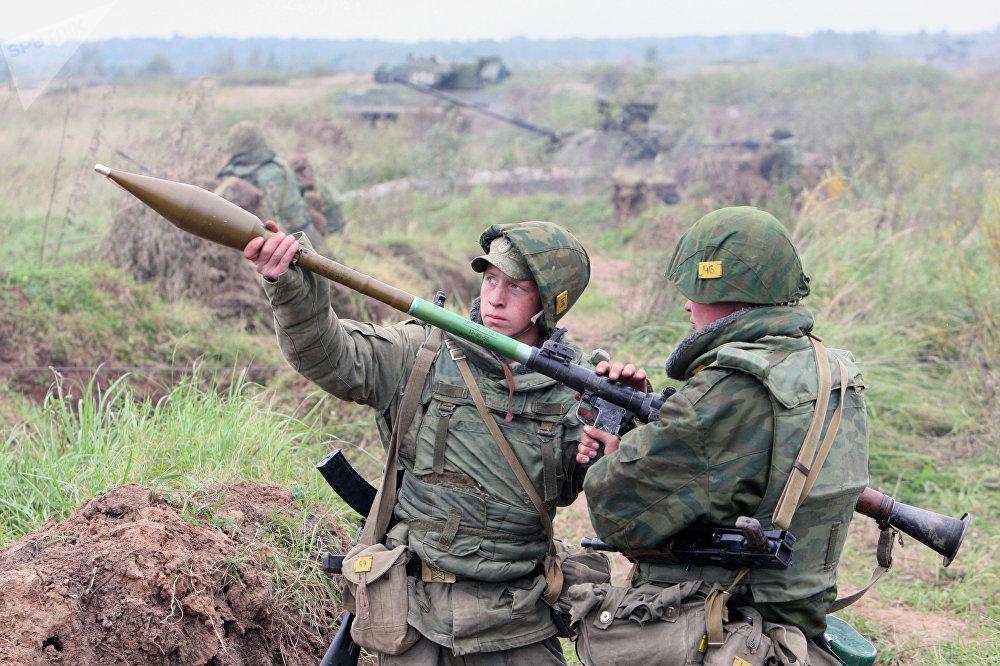 Lanzagranadas antitanque portátil RPG-7