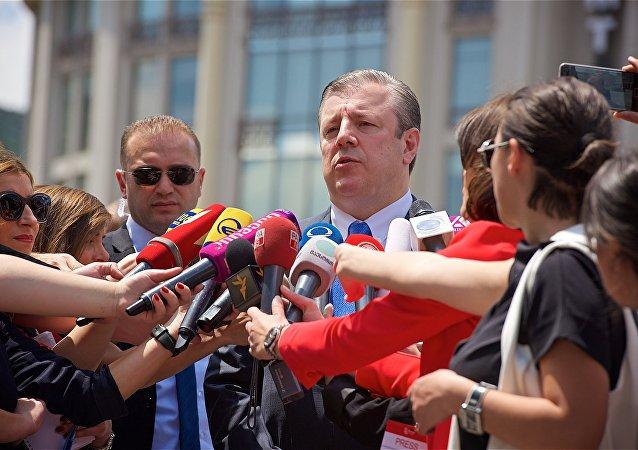 Giorgi Kvirikashvili, primer ministro de Georgia