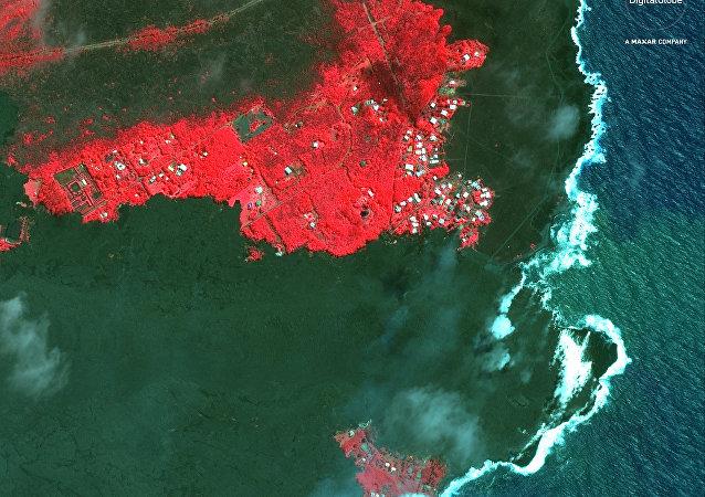 Las consecuencias de la erupción del volcán Kilauea en Hawái