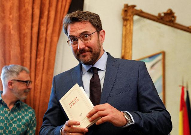 Màxim Huerta, exministro de Cultura y Deporte español