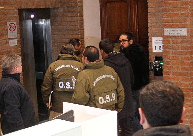 Fiscalía chilena allana Arzobispado