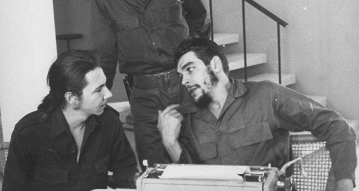 Con Raúl Castro