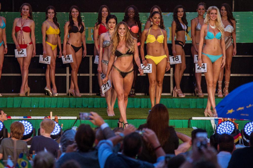Goles de hermosura, el Mundial de la Belleza se disputó en Alemania