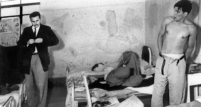 En la carcel con Fidel Castro