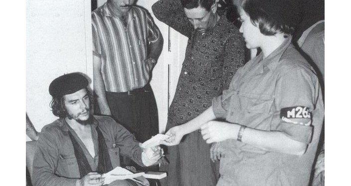 Ernesto Guevara en Santa Clara