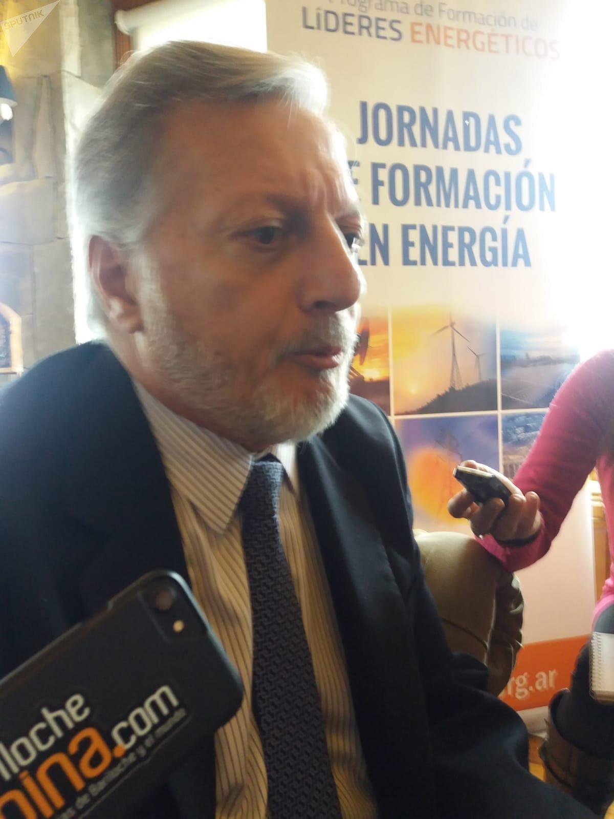 Ministro de Energía de Argentina, Juan José Aranguren