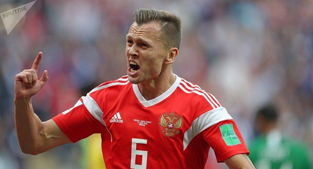 Denís Chéryshev, el jugador de la selección rusa de fútbol