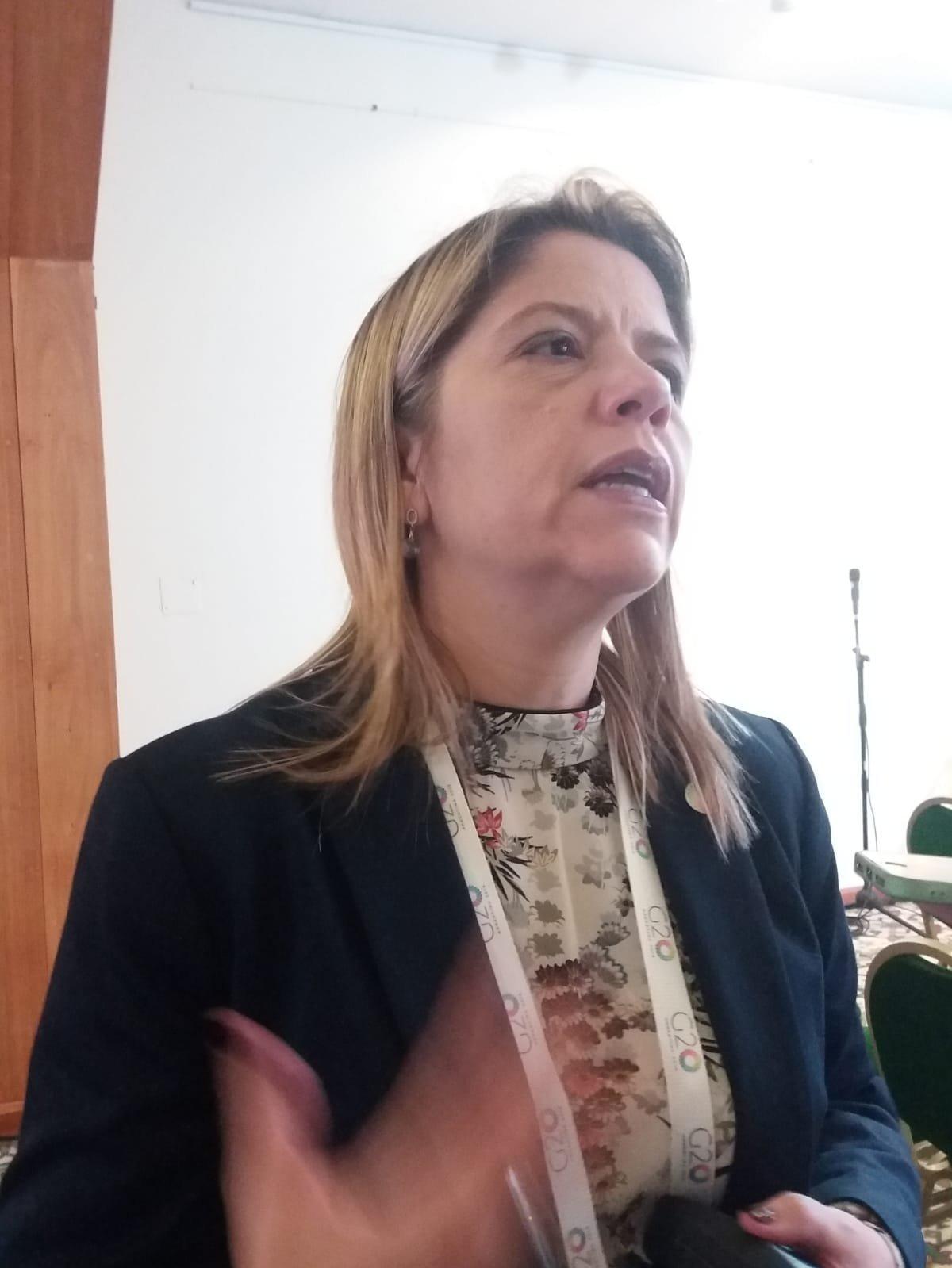 Andrea Heins, subsecretaria de Ahorro y Eficiencia Energética de Argentina
