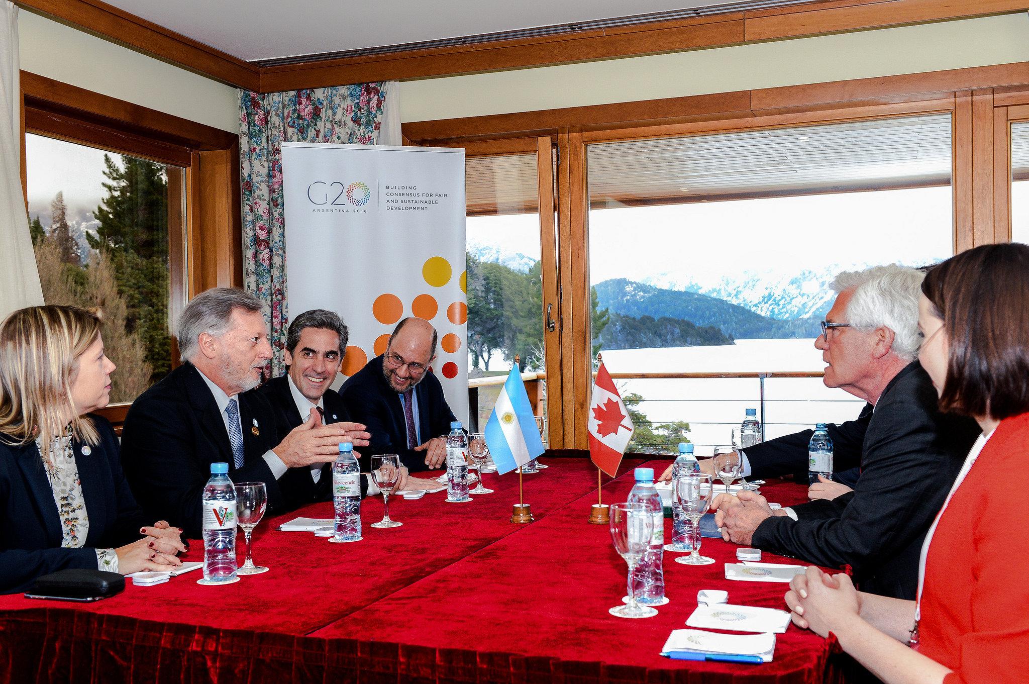 Reunión de ministros de energía del G20 en Bariloche, Argentina