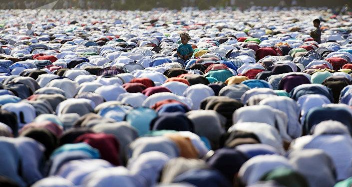Celebración del fin del mes Ramadán