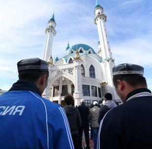 La celebración de la fiesta musulmana del Eid al-Fitr en Rusia