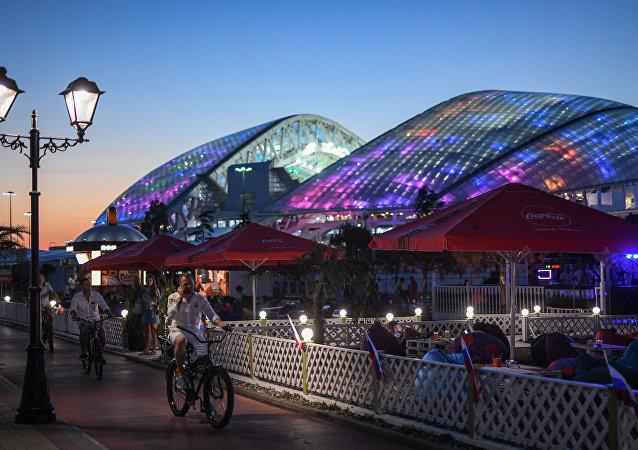 Sochi, una de las sedes del Mundial de Fútbol 2018