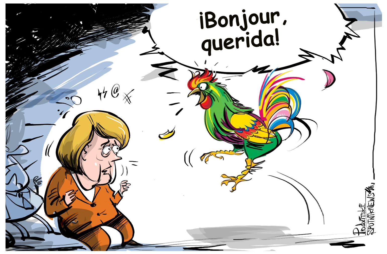 Macron quiere que la UE vuelva a hablar francés