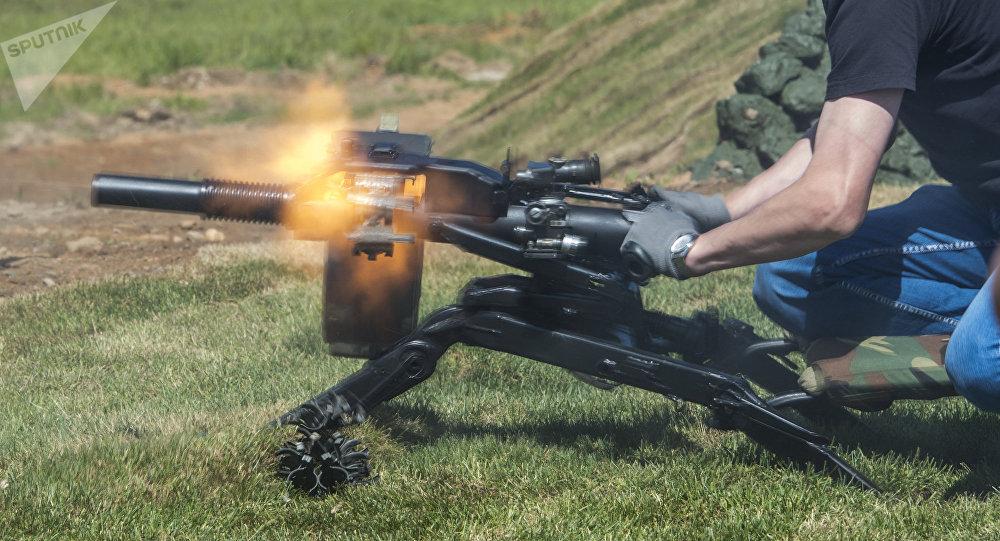 Lanzagranadas ruso AGS-40