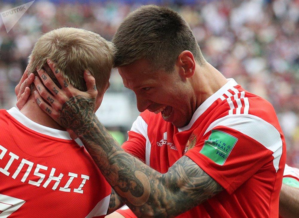 primeras victorias y derrotas del Mundial de Rusia, en imágenes