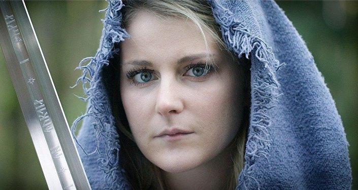 Una mujer escandinava, imagen referencial