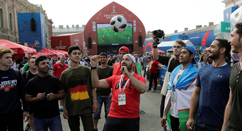 Los aficionados al fútbol