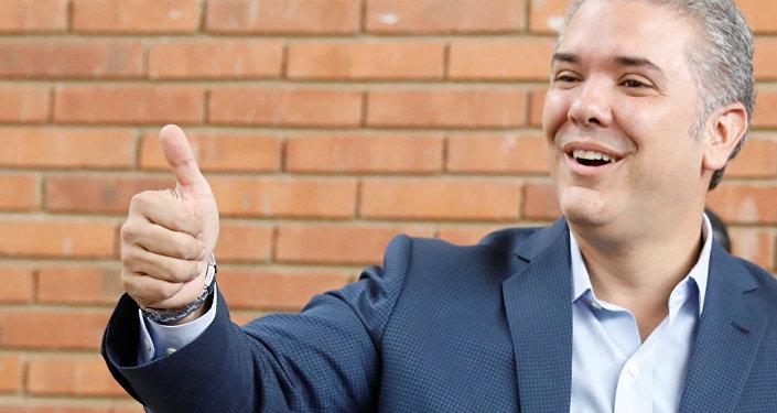 Iván Duque, elegido presidente de Colombia