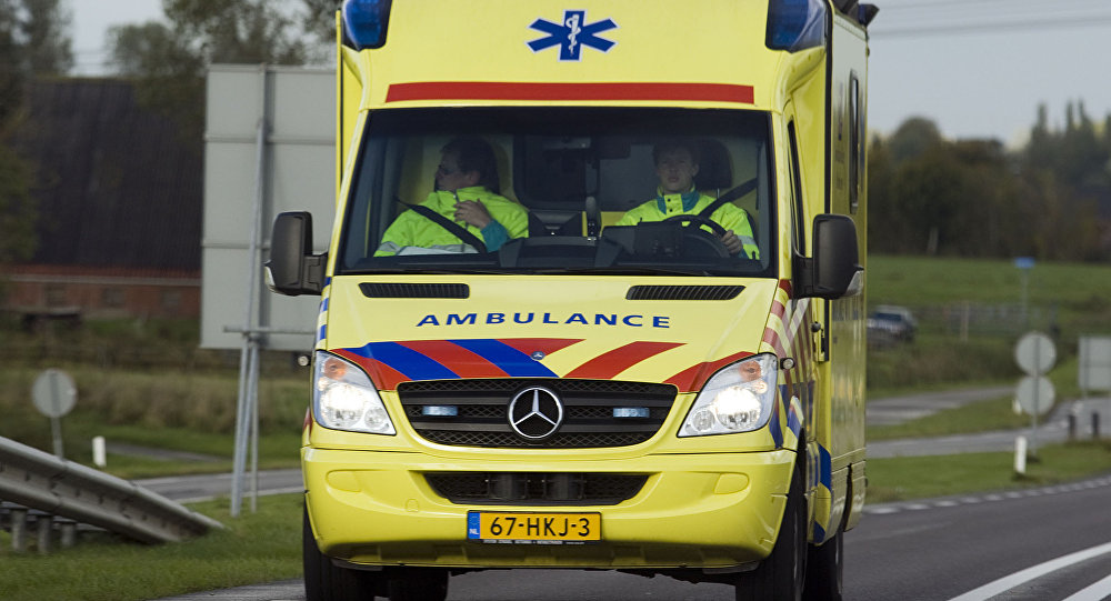 Ambulancia de Países Bajos