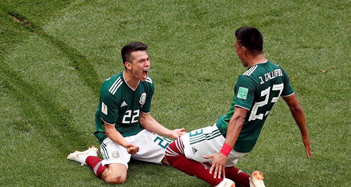 Jugadores de la selección de México