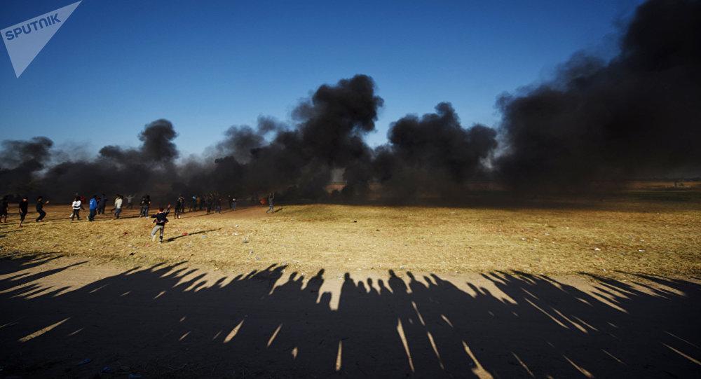 Israel bombardea posiciones de Hamás tras el lanzamiento de cohetes desde Gaza