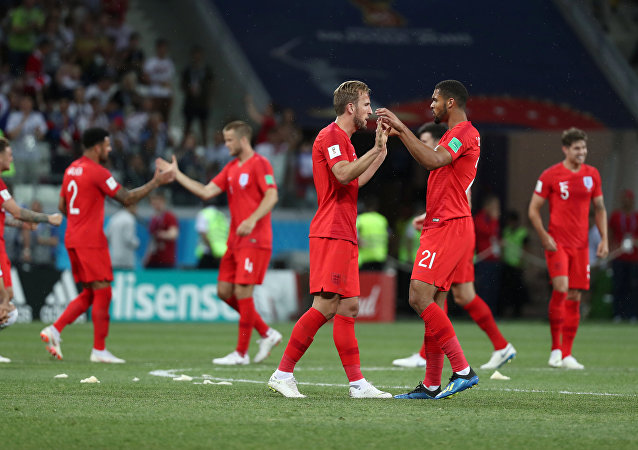 La selección inglesa