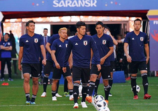 La selección de fútbol de Japón