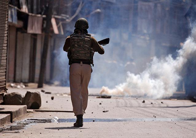 Policía de la India (archivo)