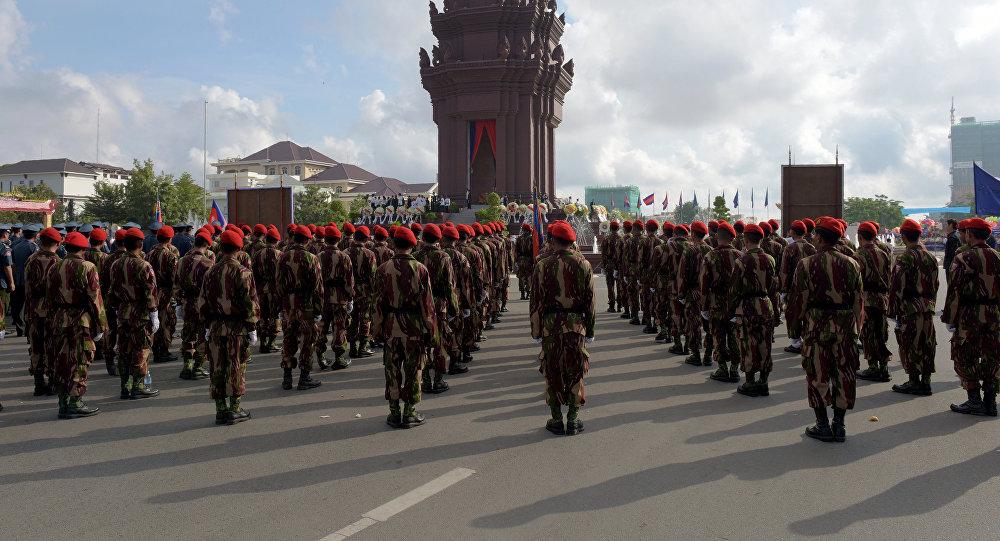 Soldados de Camboya (archivo)