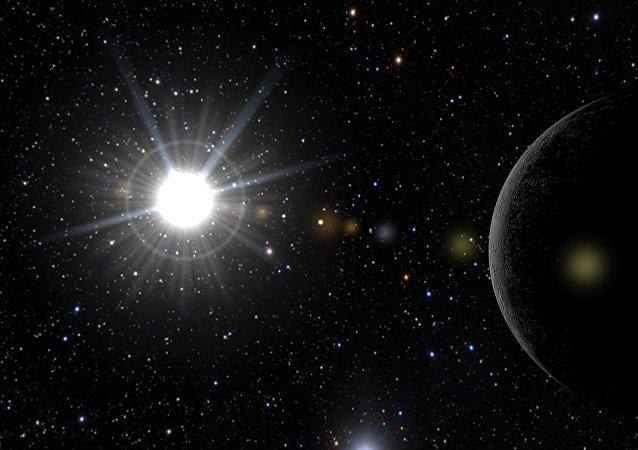 Un sistema estelar (imagen referencial)