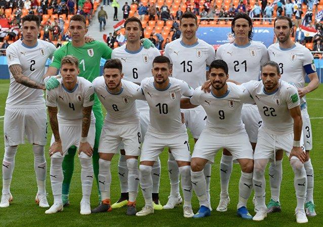 Selección de Uruguay en el Mundial de 2018