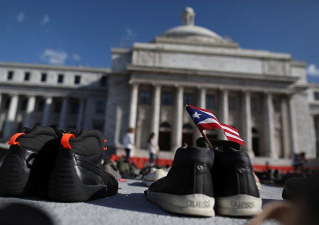 Un homenaje a las víctimas del Huracán María en Puerto Rico