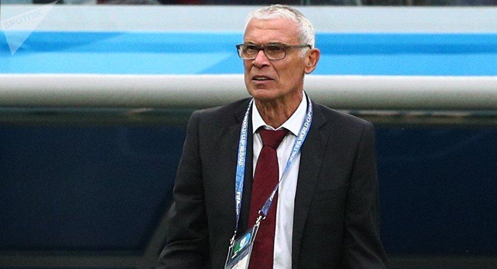 Héctor Cúper, entrenador de la selección de Egipto