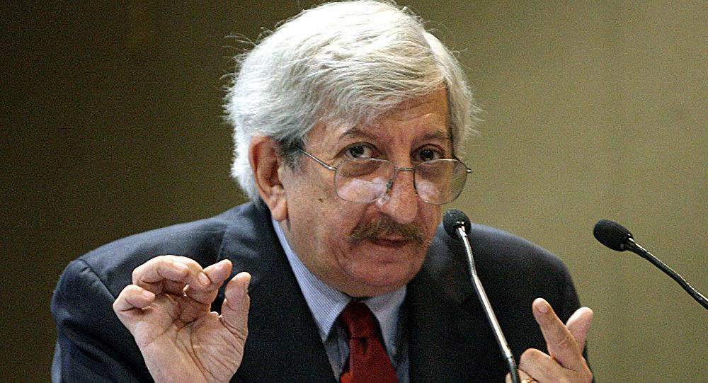 Dante Caputo, excanciller de Argentina (archivo)