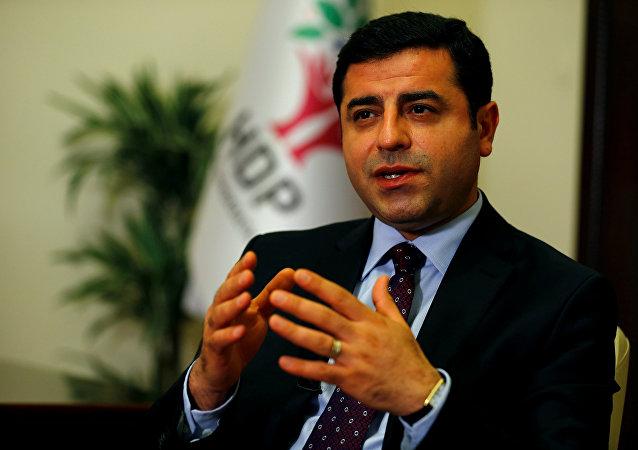 Selahattin Demirtas, exlíder del prokurdo Partido Democrático de los Pueblos (HDP)