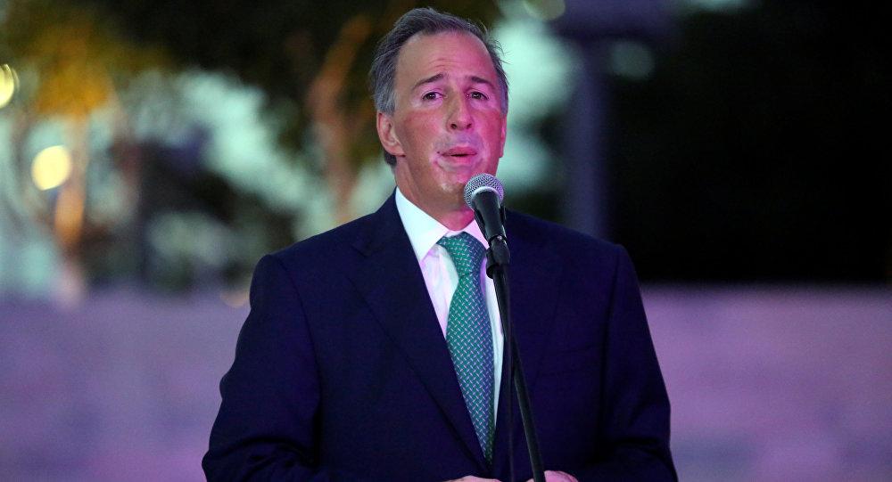 José Antonio Meade, candidato presidencial mexicano
