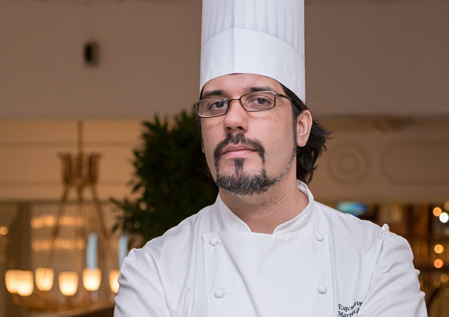El chef argentino Martín Repetto