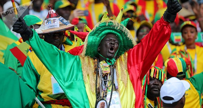Hinchas de Senegal