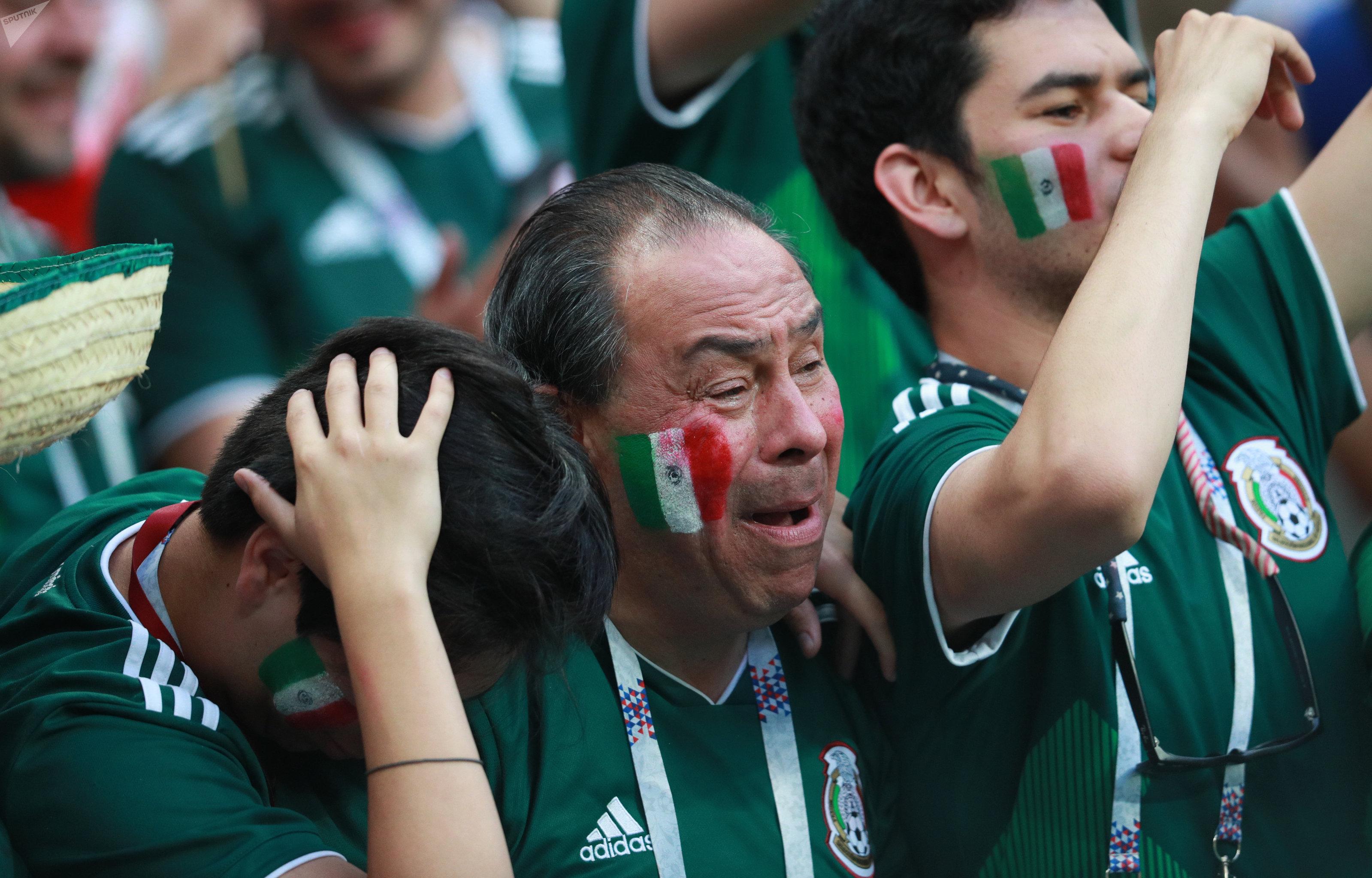 Hinchas de México emocionados por el triunfo ante Alemania en Rusia 2018
