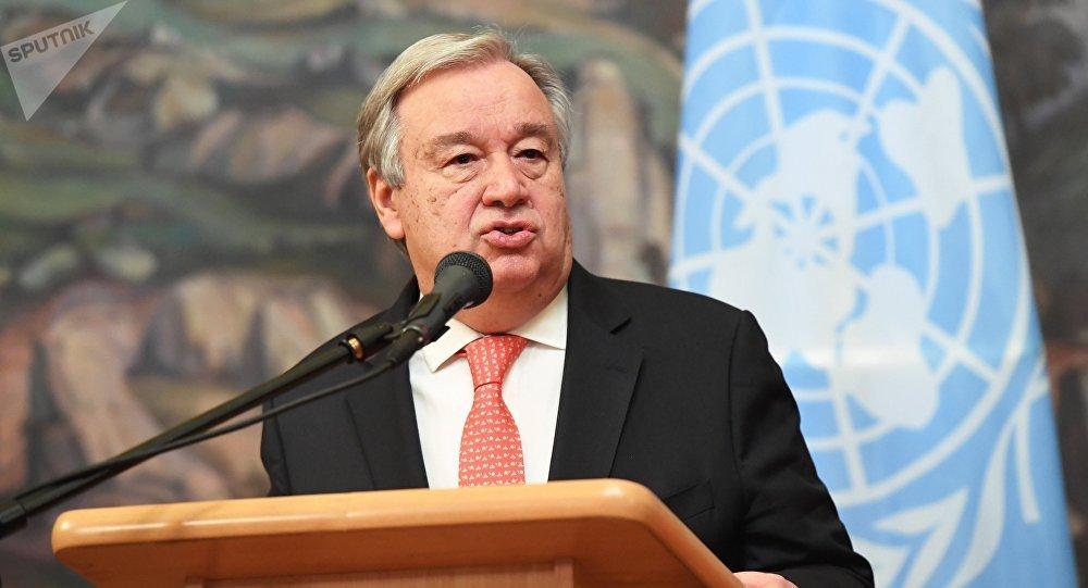 Antonio Guterres, secretario general de la ONU (archivo)
