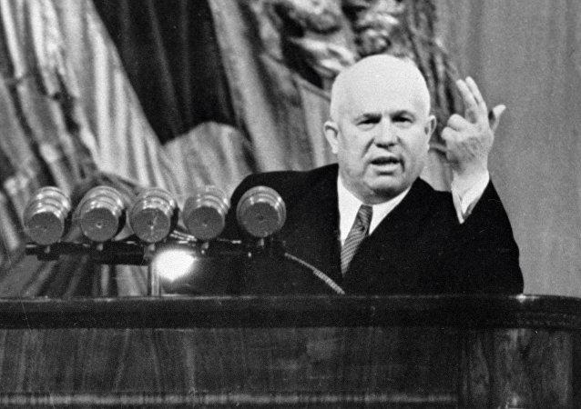 Nikita Jruschov, líder de la Unión Soviética (1953-1964)