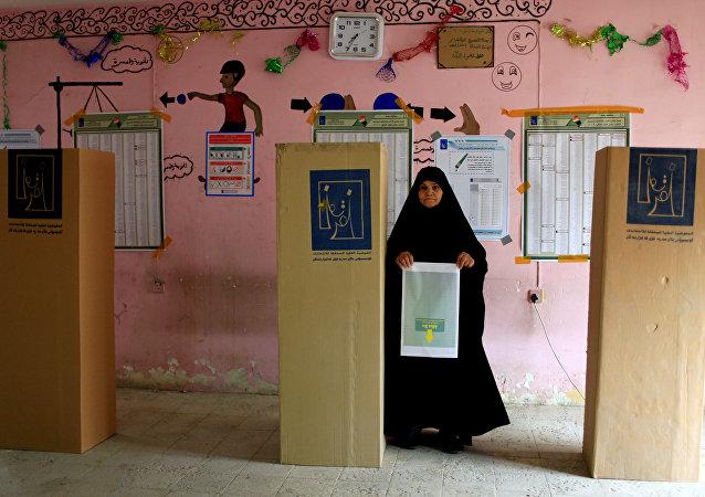 Elecciones en Irak (archivo)