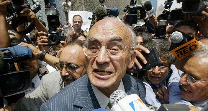 Luis Echeverría, expresidente de México