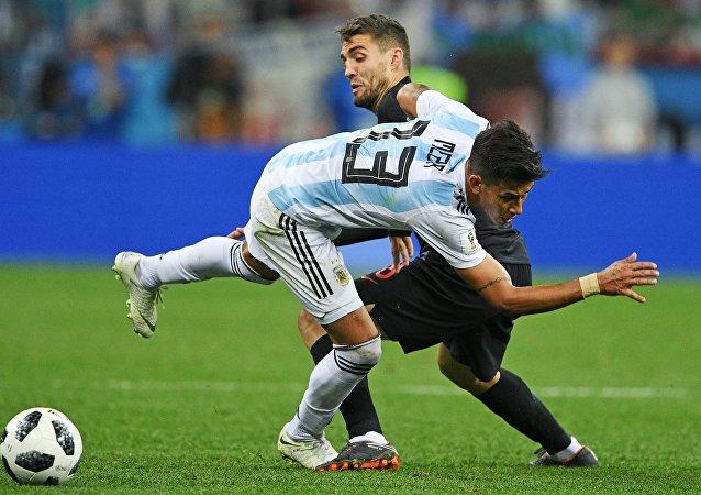 El partido Argentina-Croacia