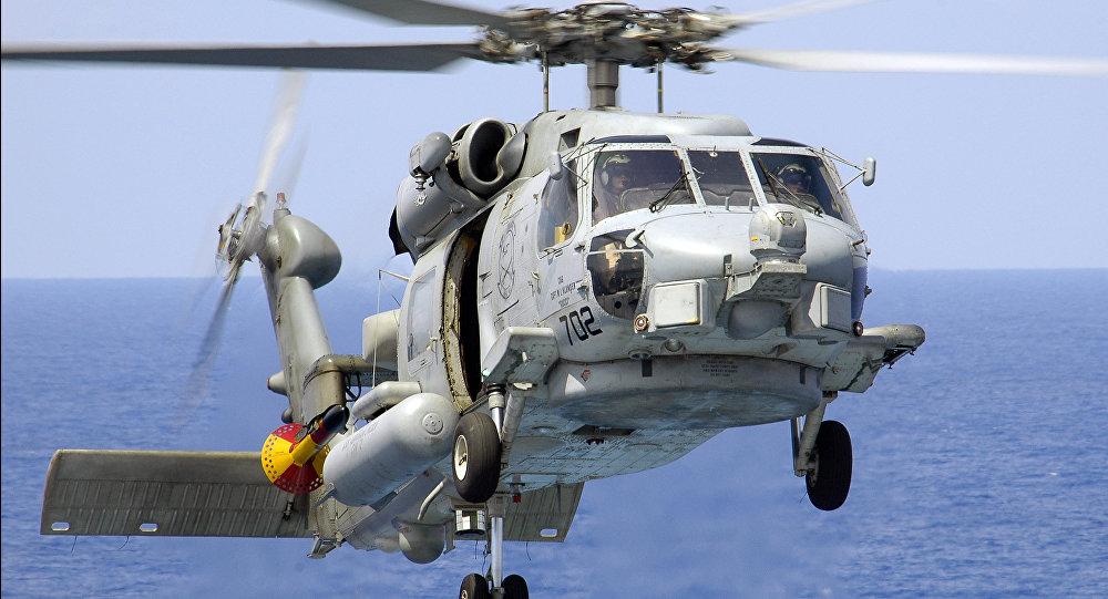 Helicóptero Sikorsky S-70B (imagen referencial)